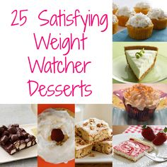 25 Satisfying Weight Watcher Desserts | A Spectacled OwlA Spectacled Owl