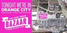 TheDailyCity.com: The Food Truck Bazaar Travels to Orange City 6-9pm