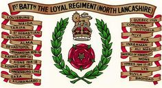 Bn The Loyal Regiment(North Lancashire) Military Units, Military History, Drums Art, The Loyal, British Army, Commonwealth, Badges, Flags, Queens
