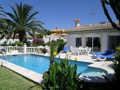 Private+villa+with+pool+2nd+line+beach+in+Marbella+(Marbesa/Elviria)+++Holiday Rental in Marbella area from @HomeAwayUK #holiday #rental #travel #homeaway