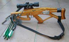 Kompakt nyílpuska távcsővel. Compact crossbow