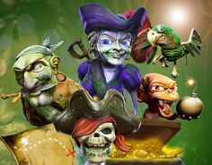 Win 1000 free spins on Ghost Pirates slot game
