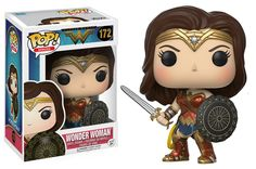 POP! Heroes: Wonder Woman with Sword & Shield for Collectibles | GameStop