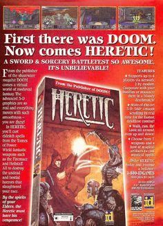 Heretic | print ad (1995)