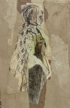 """Saatchi Online Artist: ute rathmann; Graphite 2013 Drawing """"Hommage à Goya VI"""""""