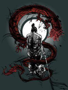 Weary Samurai by Matthew Trupia