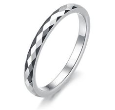 Three Keys Jewelry 2mm Women Multi-faceted Tungsten Carbide Wedding Engagement Silver Band Ring Size 4-12.5 Why choose Three Keys Jewelry store to purchase? Reason.1: Amazon Authentication Brand;(Guaranteed Quality ) Reason.2: True & Pure  Read more http://cosmeticcastle.net/jewelery/three-keys-jewelry-2mm-women-multi-faceted-tungsten-carbide-wedding-engagement-silver-band-ring-size-4-12-5  Visit http://cosmeticcastle.net to read cosmetic reviews