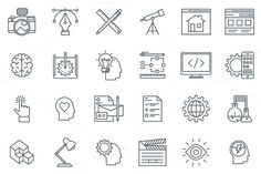 Design and  development icon set. Business Infographic. $8.00