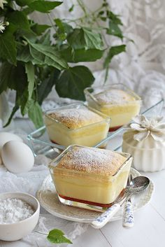 MÉZES KARAMELL PUDING ~ Cookie Recipes, Dessert Recipes, Sweet Desserts, Winter Food, No Bake Cake, Panna Cotta, Food And Drink, Yummy Food, Sweets