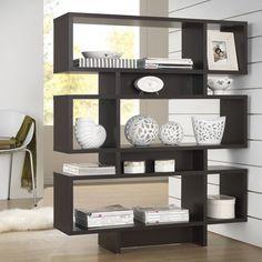Parker Dark Brown/ Espresso Modern Storage Shelf - Overstock™ Shopping - Great Deals on Baxton Studio Media/Bookshelves