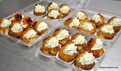 Mini Lemon Tarts, Dacquoise, Eclairs, Food Cakes, Food Inspiration, Cake Recipes, Caramel, Muffin, Sweets