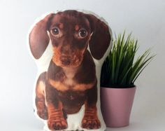 Custom dog pillow personalized dog pillow dog by BeTheOriginal