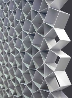 Cellscreen by korban/flaubert motif . Le Manoosh, Pattern Texture, Digital Fabrication, Parametric Design, Retail Store Design, Co Working, Textile Patterns, Geometric Patterns, Shape Patterns