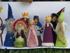Waldorf inspired Needle felted Fairy Tale by Made4uByMagic on Etsy