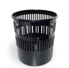 CESTINO GETTACARTE FORATO Materiale infrangibile. Capacità 12 litri - forma rotonda con lati aperti. Superfi cie interna liscia per facilitare la pulizia e lo svuotamento. Forma impilabile per guadagnare spazio nel trasporto.