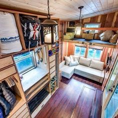 Mountaineers Dream House 204 sq ft 2 of 3 photos by Patrick Treadway Photography
