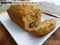 » Gluten Free Chocolate Chip Banana Bread Sumptuous Spoonfuls