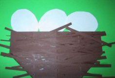 Lente platte vlak knutselen » Juf Sanne