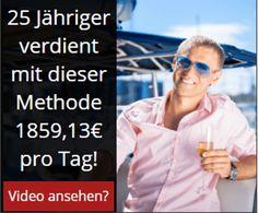 Von zu Hause aus 1814 Euro verdienen - gratis Webinar mit Said Shiripour Internet Marketing, Online Marketing, Euro, Need Money, Evergreen, Affiliate Marketing, Videos, Sayings, Tips