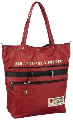 Strellson Piccadilly Circus Tote 02/21/03134, Herren Aktentaschen, Rot (burned red 160), 45x42x13 cm (B x H x T) - http://herrentaschenkaufen.de/strellson/rot-burned-red-160-strellson-piccadilly-circus-02