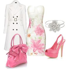 Wedding Guest Outfit...love the purse!  =)