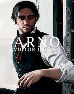 "Arno Victor Dorian - ""To your health, gents!"" Such a rapscallion."