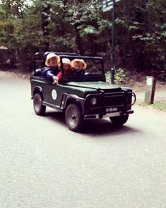 Aan het genieten van een lang weekendje. Op kids safari in Erperheide. Een aanrader!