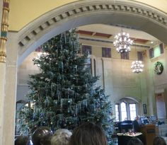 Annual Lighting of the Christmas Tree in the Union