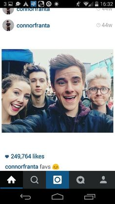 If you can possibly look past the cuteness that is Connor, look at Tyler's face