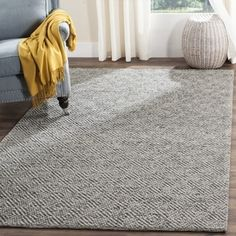 Shop for Safavieh Handmade Natura Southwestern Camel / Grey Wool / Cotton Rug (8' x 10'). Get free shipping at Overstock.com - Your Online Home Decor Outlet Store! Get 5% in rewards with Club O!