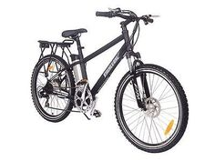 TRAIL MAKER Lithium Powered Electric Mountain Bicycle - BLACK