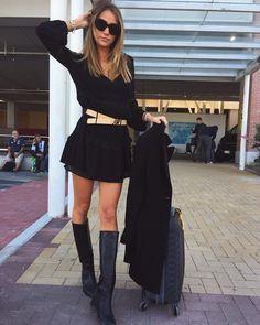 ALICE CAMPELLO MODEL WITH VIA ROMA 15 BOOTS ❤️
