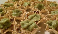 Black bean nachos with Guac
