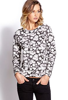 Floral Haze Sweatshirt | FOREVER21 - 2000072697