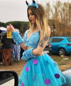 Imagem de amigos, azul e vaia - 15 - Costume Halloween, Halloween Costumes For Teens Girls, Best Friend Halloween Costumes, Purim Costumes, Cute Costumes, Carnival Costumes, Disney Costumes, Halloween Outfits, Disney Outfits