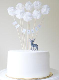 Decoracion de torta con animalito