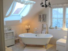 Shabby White Bathroom