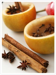 Calientito (Warm Pear Cider) -- A great party drink for the holidays
