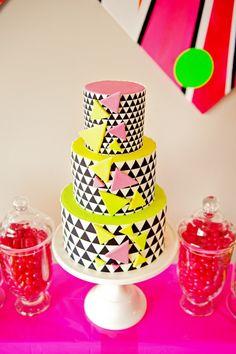 Neon Cake Art part 13 Pinterest Neon cakes Cake and Amazing cakes