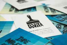 Bringing in some colour with a new logo, business cards, letterhead and an info-flyer design for De Vita Painting. Flyer Design, Web Design, Graphic Design, Letterhead, Branding, Illustration, Painting, Visit Cards, Color