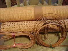 Cane Weaving - Preparing, Tools & Patterns