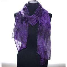 Silk scarf silk scarf hand painting scarf purple Fall accessories gift... via Polyvore featuring accessories, scarves, purple shawl, purple silk scarves, shibori scarves, silk shawl and pure silk scarves