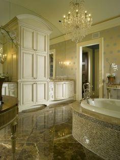Glorious Chandelier For Luxury Bathroom High Bathroom Cabinets For Luxury Bathroom