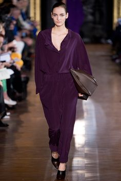 Fashion Week is doing it. | Stella McCartney Fall 2013 RTW - Review - Fashion Week - Runway, Fashion Shows and Collections - Vogue