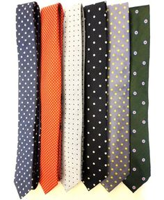 I'm on a polka dot tie kick right now....
