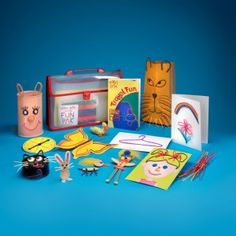 Wikki Stix Activity Set Save - make all kinds of art projects without making a mess.  Reusable activities come in a handy carrying case making it easy to store or travel with.  $16.95