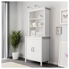 BRUSALI vitrin beyaz | IKEA Oturma Odaları