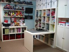 luvbeingcreative: Craft Rooms.......