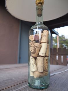 Wine Cork Lamp