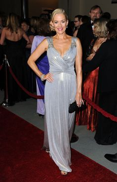 Penelope Ann Miller in David Meister at the Directors Guild Awards. Penelope Ann Miller, David Meister, Guest List, Prom Dresses, Formal Dresses, Gray Dress, Awards, Grey, How To Wear
